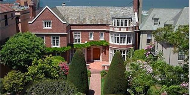 No. 22 Most Expensive Home Sold: 1922 Pacific Heights mansion
