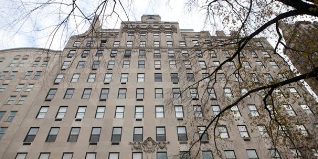 No. 11 Most Expensive Home Sold (tie): 834 Fifth Avenue, co-op unit