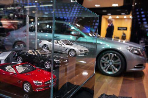 Mercedes-Benz Gallery Showroom