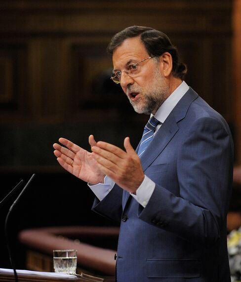 Spanish Prime Minister Mariano Rajoy
