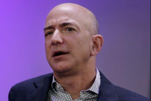 Amazon.com Inc. CEO Jeff Bezos. Photographer: Peter Foley/Bloomberg