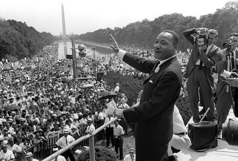 U.S. Civil Rights Leader Martin Luther King Jr.