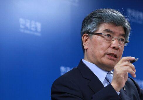 South Korea Central Bank Governor Kim Choong Soo