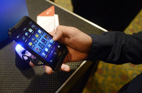 BlackBerry Fades in Fight to Contend With Apple and Google