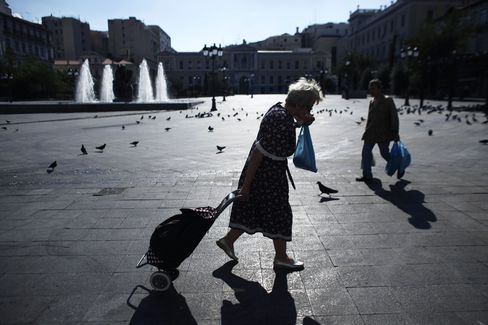 Euro Area Slides Into Recession for Second Time in Four Years