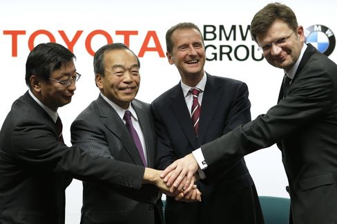 Toyota, BMW Deepen Collaboration In Fuel Cells, Sports Cars
