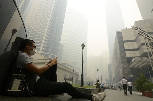 Singapore's Worst-Ever Air Pollution Last Year
