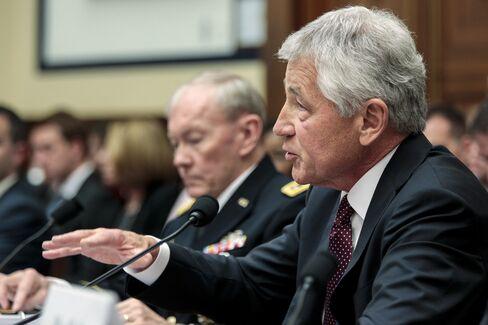 Defense Secretary Chuck Hagel