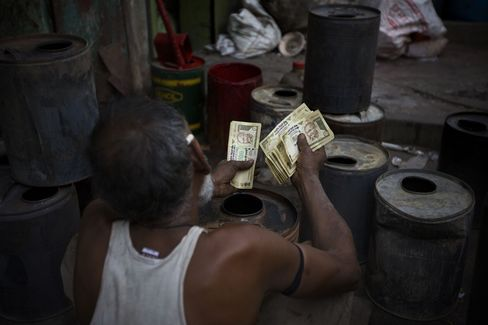 Pimco to HSBC See Opportunity in Record-Low Rupee