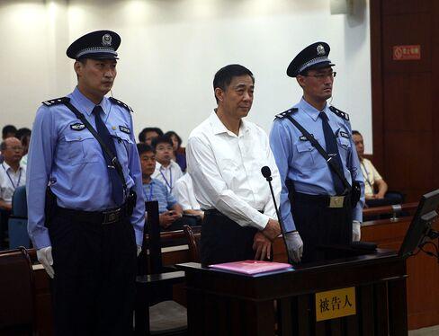 Former Politburo Member Bo Xilai