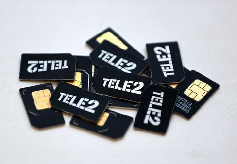 Tele2-branded Sim Cards