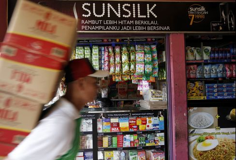 Unilever Doubles P&G Growth by Dominating Jakarta Stalls