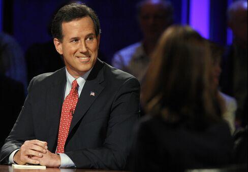 Former U.S. Senator Rick Santorum
