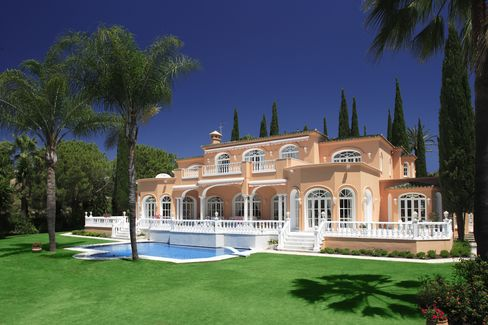 Prince's former home sits near Marbella.