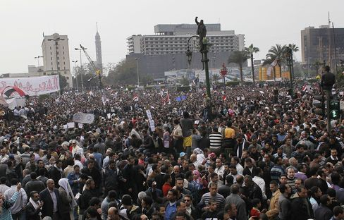 Cairo's Liberation Square has History of Protests