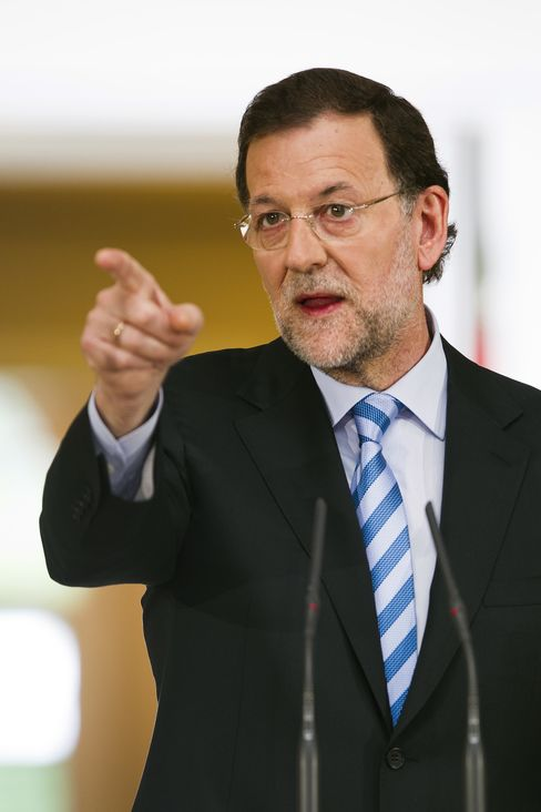 Spanish Prime Minister Mariano Rajoy,