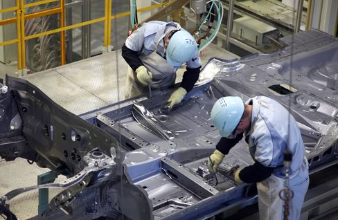 Japan's Industrial Production Increases Less Than Expected