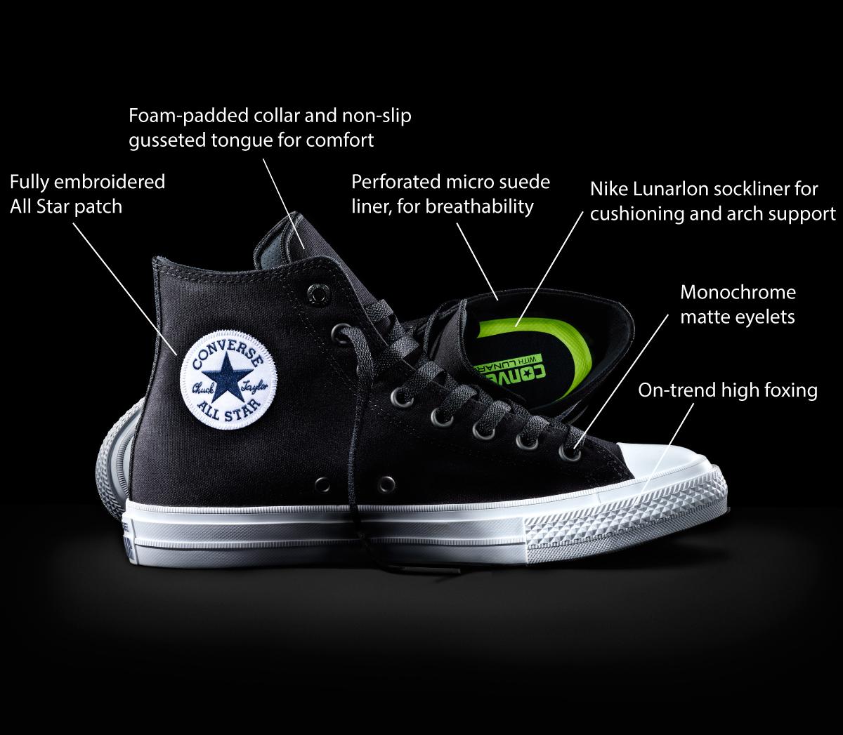 Sepatu Chuck Taylor 2.0. (Dok. Converse) aec18d1f24