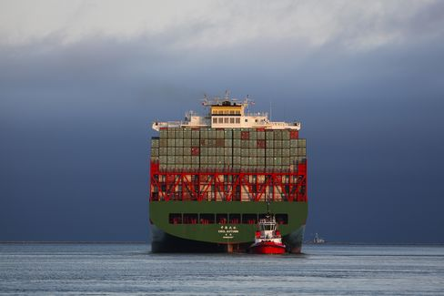 The Port Of Los Angeles As Obama Fast-Track Trade Plan Heading To Narrow House Vote