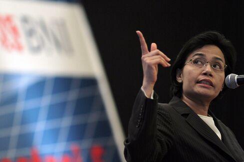 Sri Mulyani Indrawati, Indonesia's finance minister