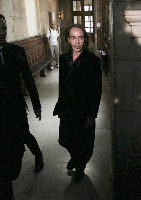 Fashion Designer John Galliano