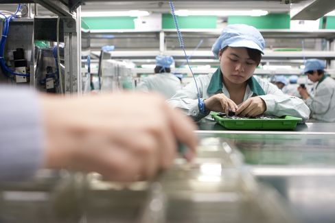 China Manufacturing Weakens Further as Slowdown Deepens