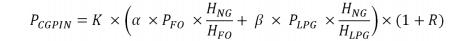China natural gas pricing formula