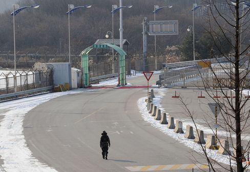 N. Korean Soldier Defects Across DMZ After Killing Two Officers