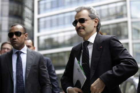 Saudi Prince Alwaleed bin Talal