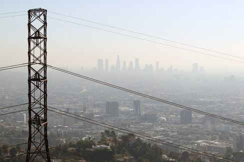 Wildfires Spur Surging Los Angeles Power Costs