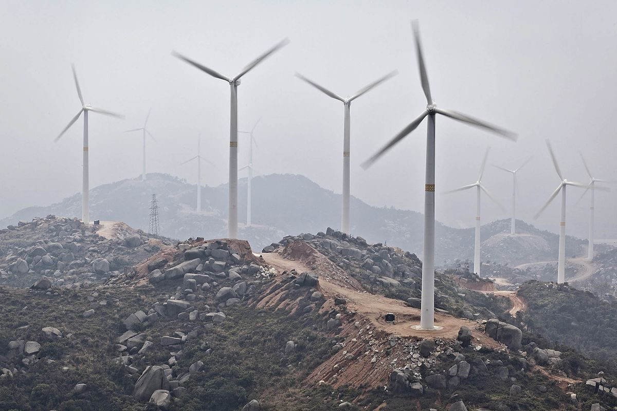 China Resources Power Wind Farm Visit
