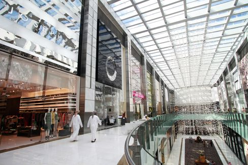Dubai Developers Tap Retail Sweet Spot, Homes, Offices Fall
