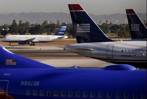 JetBlue Airways Corp and US Airways Group Inc. Aircraft