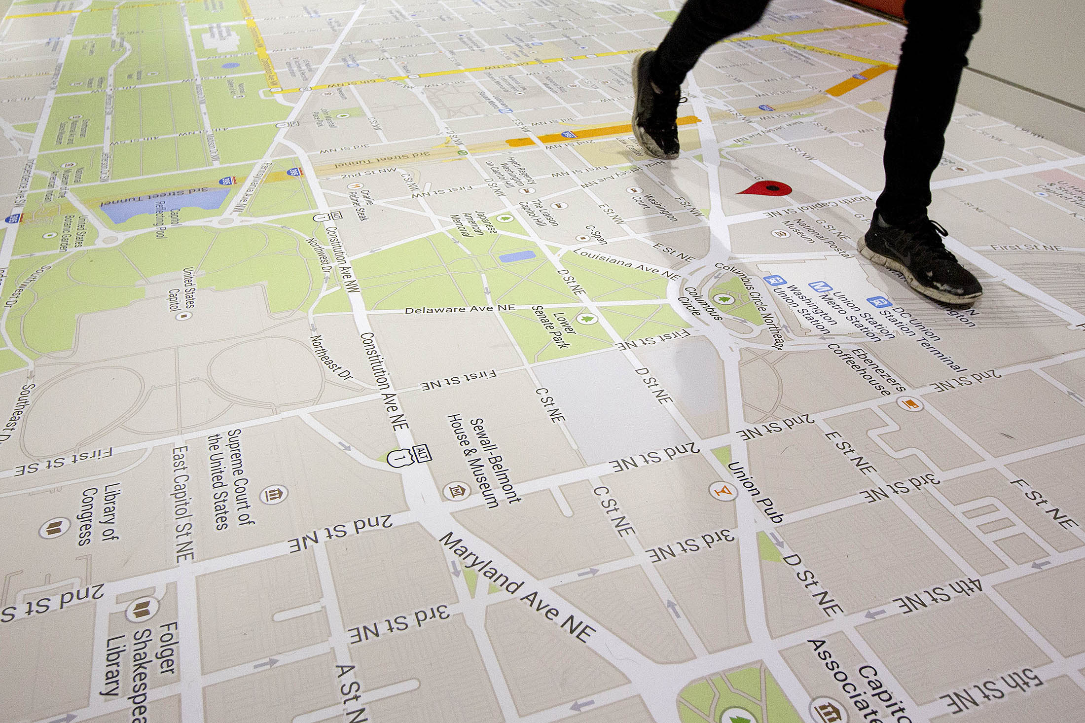 Google Plans to Map the Interior World in 3-D
