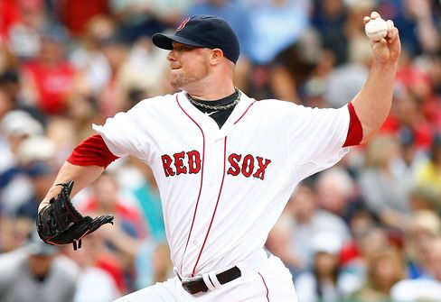 Red Sox Pitcher Jon Lester