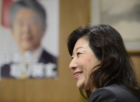 LDP General Council Chairperson Seiko Noda