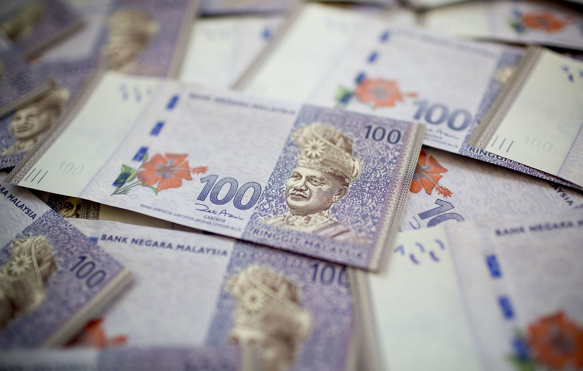 Emerging market currencies like the Malaysian ringgit are catching a bid.