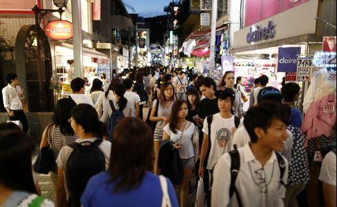 Harajuku Shoppers Ahead Of Japan Consumer Price Index