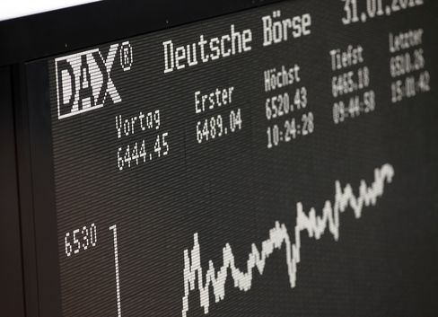 German Stock Ownership Highest Since '07 as Bond Yields Fall