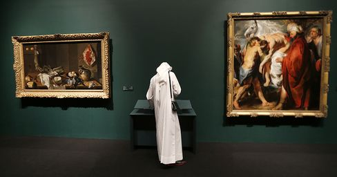 Dubai Big Brother Abu Dhabi Drives Spending on Museums Not Malls