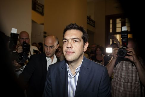 Syriza Head Alexis Tsipras,