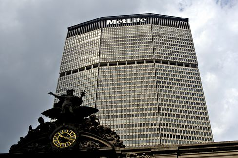 MetLife Says Bank Unit May Miss Profit Targets as Rates Rise