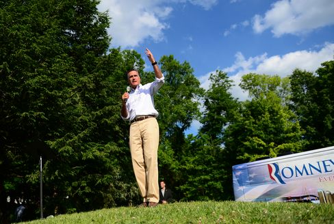 Presidential Candidate Mitt Romney
