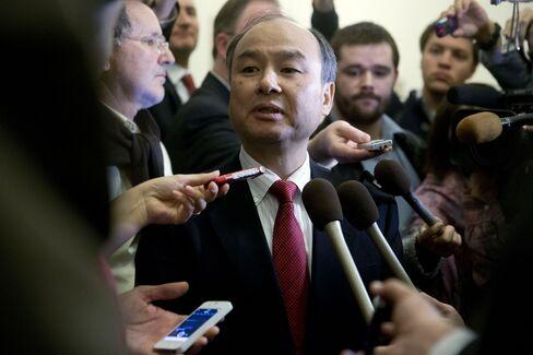 SoftBank Chairman Masayoshi Son