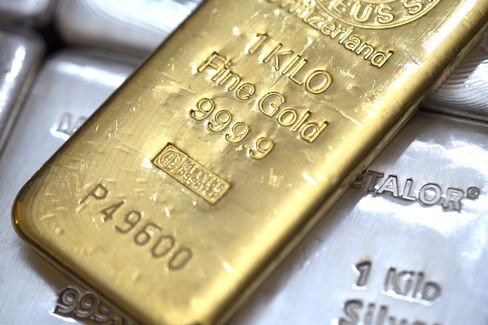 Gold Leads Commodities Lower as China's Expansion Falters