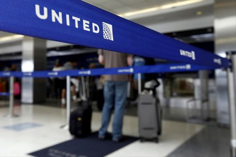 United Continental Ticket Counter