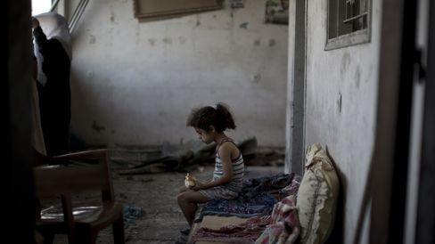 Palestinians at Home in Gaza