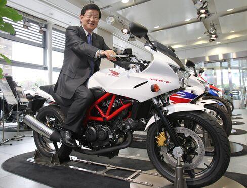 Honda Motor Co. Senior Managing Office Tatsuhiro Oyama