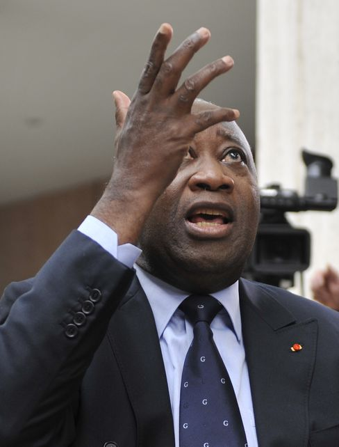 Ivory Coast's Gbagbo Faces Financial 'Asphyxia' by EU