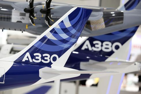 Airbus Said to Win A380 Order Worth $4 Billion From Doric Asset